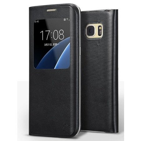 Mobiware Magnet View Case Zwart Samsung Galaxy S8 Plus