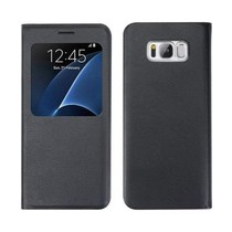 Magnet View Case Zwart Samsung Galaxy S8 Plus