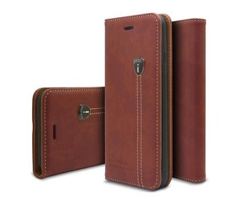 iHosen Leren Book Case iPhone 6 Plus/6S Plus Bordeaux Rood