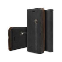iHosen Leren Book Case iPhone 6 Plus/6S Plus Zwart