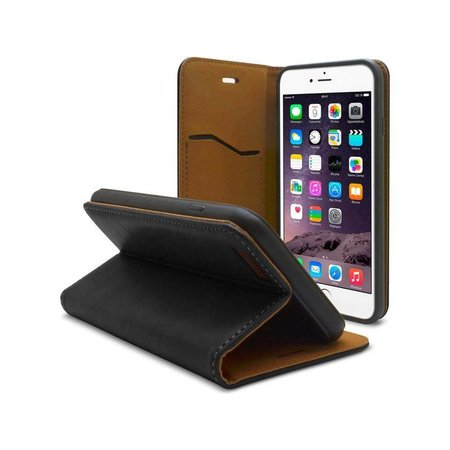 iHosen iHosen Leren Book Case iPhone 6 Plus/6S Plus Zwart