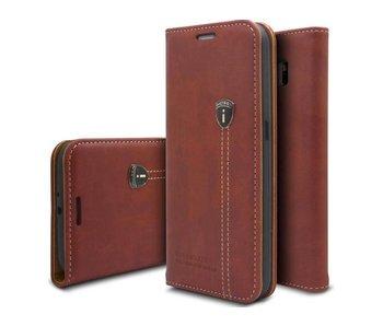 iHosen Leren Hoesje Samsung Galaxy Note 8 Bordeaux Rood