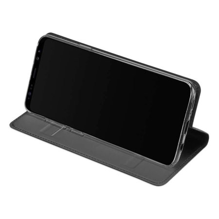 DUX DUCIS DUX DUCIS Samsung Galaxy S9 Plus Wallet Case Slimline - Grijs