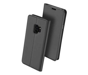 DUX DUCIS Samsung Galaxy S9 Wallet Case Slimline - Grijs