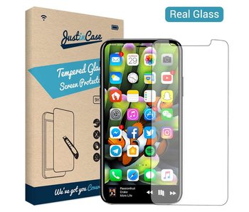 Just in Case Tempered Glass iPhone X
