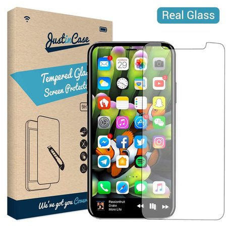 Just in Case Just in Case Tempered Glass iPhone X