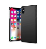 Just in Case Just in Case iPhone X Hard Back Case - Zwart
