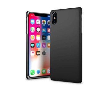Just in Case iPhone X / Xs Hard Back Case - Zwart