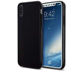 Just in Case iPhone X / Xs Soft TPU case - Zwart
