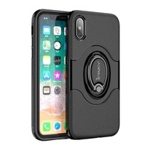 iPaky Hybrid Case iPhone X - Zwart