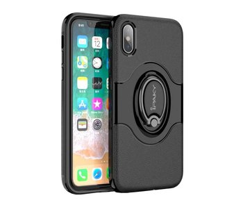 iPaky Hybrid Case iPhone X - Zwart