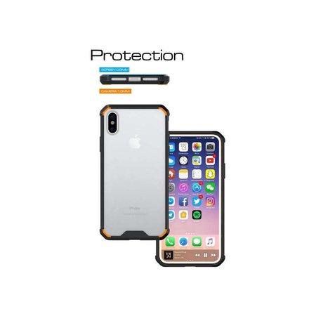 Just in Case Just in Case iPhone X / Xs Premium case - Transparant / Zwart