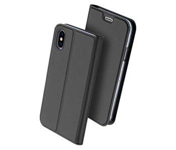 DUX DUCIS iPhone X Wallet Case Slimline - Grijs