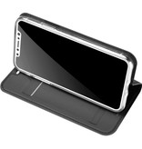 DUX DUCIS DUX DUCIS iPhone X / Xs Wallet Case Slimline - Grijs