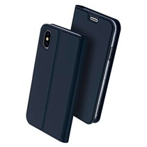 DUX DUCIS iPhone X Wallet Case Slimline - Blue