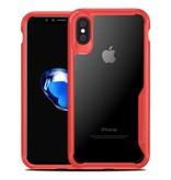 iPaky iPaky Anti-Drop case iPhone X - Rood