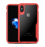 iPaky iPaky Anti-Drop case iPhone X - Rood