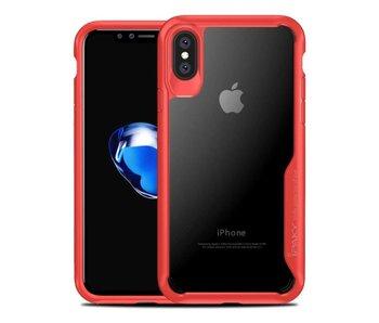 iPaky Anti-Drop case iPhone X - Rood