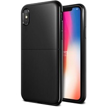 VRS Design Single Fit Series iPhone X / Xs - Zwart