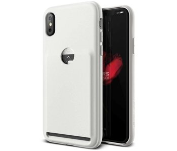 VRS Design Damda Fit Case iPhone X / Xs (Light Pebble)