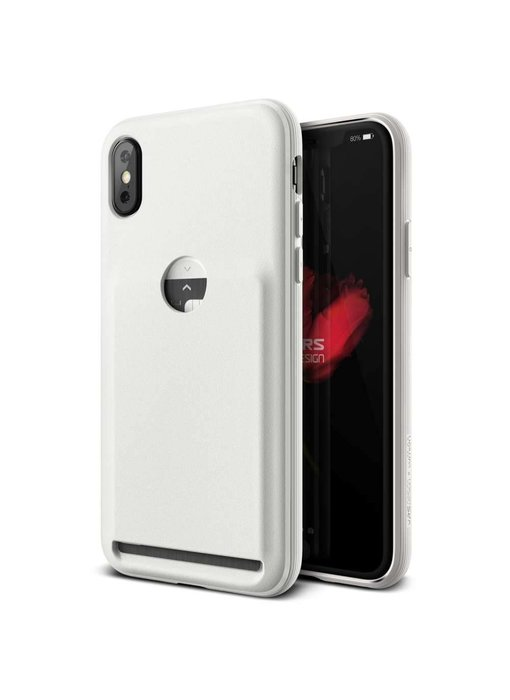VRS Design Damda Fit Case iPhone X / Xs (Light Pebble)