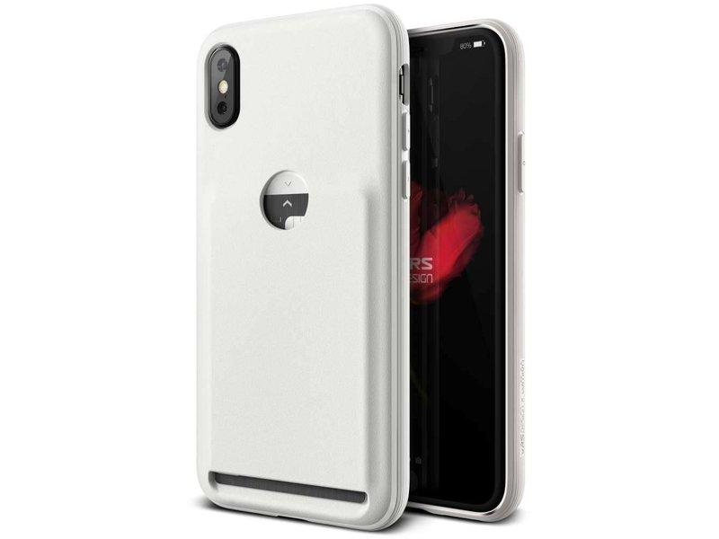 VRS Design VRS Design Damda Fit Case iPhone X / Xs (Light Pebble)