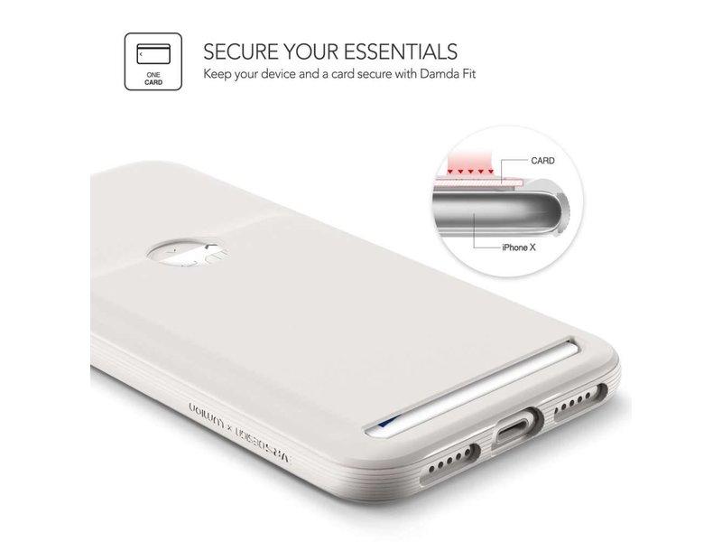 VRS Design VRS Design Damda Fit Case iPhone X (Light Pebble)