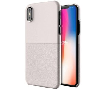 VRS Design Skin Fit Series iPhone X / Xs (Light Pebble)