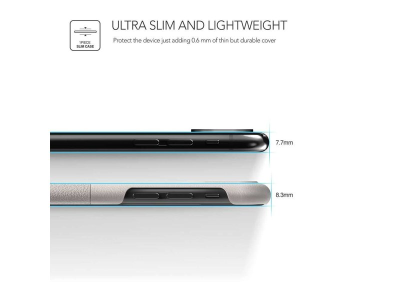 VRS Design VRS Design Skin Fit Series iPhone X / Xs (Light Pebble)