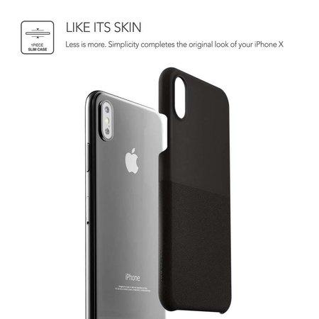 VRS Design VRS Design Skin Fit Series iPhone X / Xs - Zwart