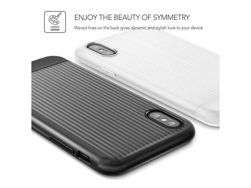 VRS Design VRS Design Shine Coat Series iPhone X  / Xs- Wit