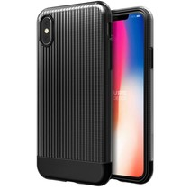 VRS Design Shine Coat Series iPhone X / Xs - Zwart