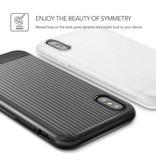 VRS Design VRS Design Shine Coat Series iPhone X / Xs - Zwart