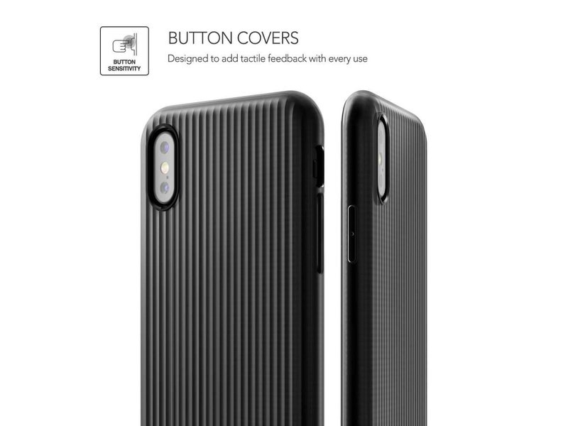 VRS Design VRS Design Shine Coat Series iPhone X - Zwart