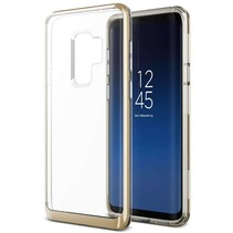 VRS Design Crystal Bumper Case Samsung Galaxy S9 Plus - Goud