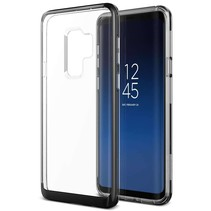 VRS Design Crystal Bumper Case Samsung Galaxy S9 Plus - Zwart