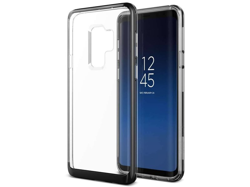 VRS Design VRS Design Crystal Bumper Case Samsung Galaxy S9 Plus - Zwart