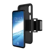 Just in Case iPhone X / Xs TPU Sport armband case - Zwart