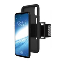 Just in Case iPhone X / Xs TPU Sport armband case - Zwart