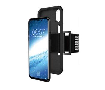 Just in Case iPhone X TPU Sport armband case - Zwart