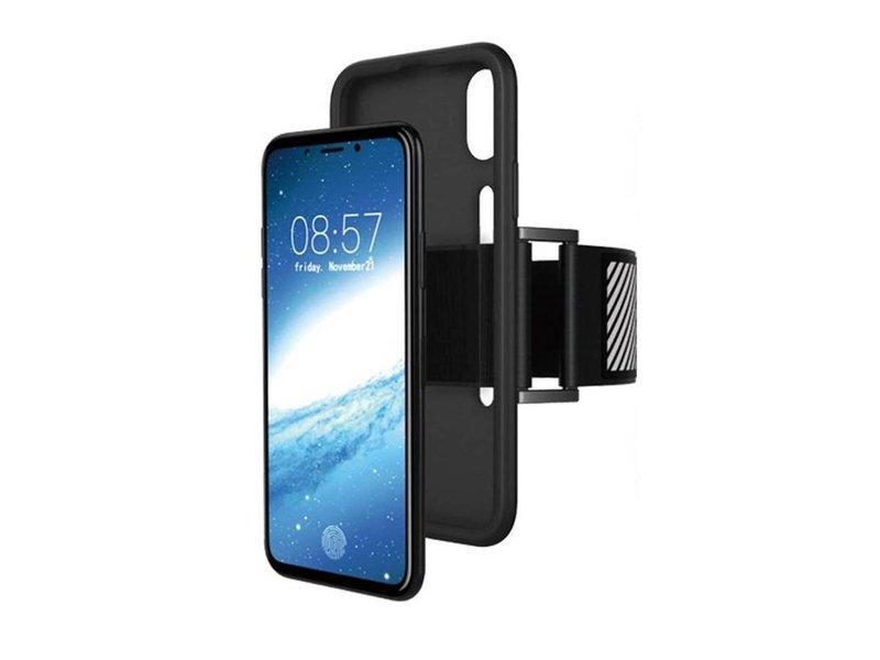 Just in Case Just in Case iPhone X / Xs TPU Sport armband case - Zwart