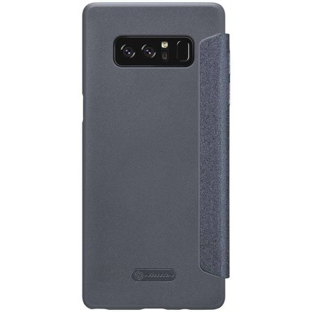 Nillkin Nillkin Sparkle Leather Case Samsung Galaxy Note 8 - Zwart