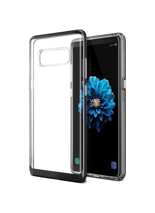 VRS Design Crystal Bumper Case Samsung Galaxy Note 8- Jet Black