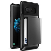 VRS Design Damda Glide Case Samsung Galaxy Note 8 - Dark Silver
