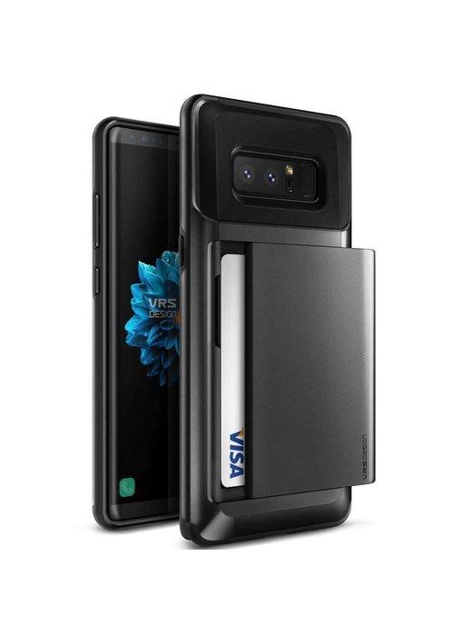 VRS Design Damda Glide Case Samsung Galaxy Note 8 - Dark Silver