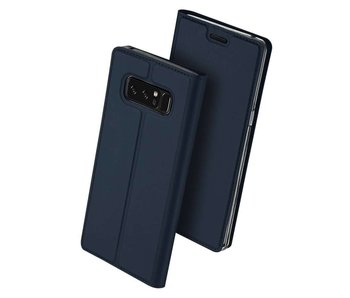 DUX DUCIS Samsung Galaxy Note 8 Wallet Case Slimline - Blue