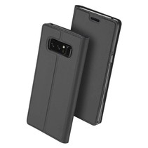 DUX DUCIS Samsung Galaxy Note 8 Wallet Case Slimline - Grey