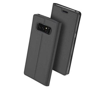 DUX DUCIS Samsung Galaxy Note 8 Wallet Case Slimline - Grey