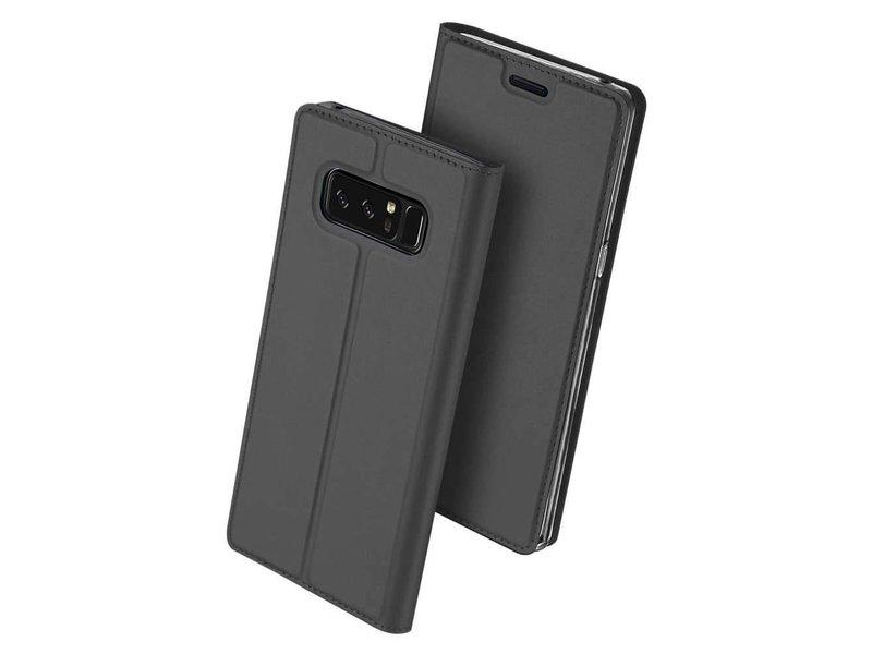 DUX DUCIS DUX DUCIS Samsung Galaxy Note 8 Wallet Case Slimline - Grey