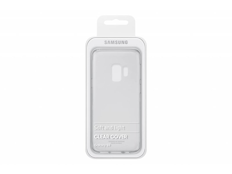 Samsung Samsung Clear Cover Back Case Transparant Voor Samsung Galaxy S9
